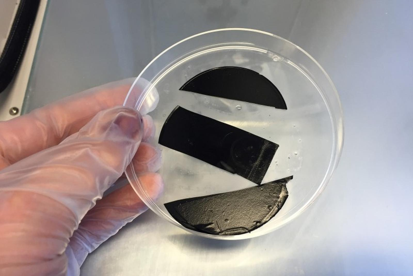 Power paper - cellulose with electric charge