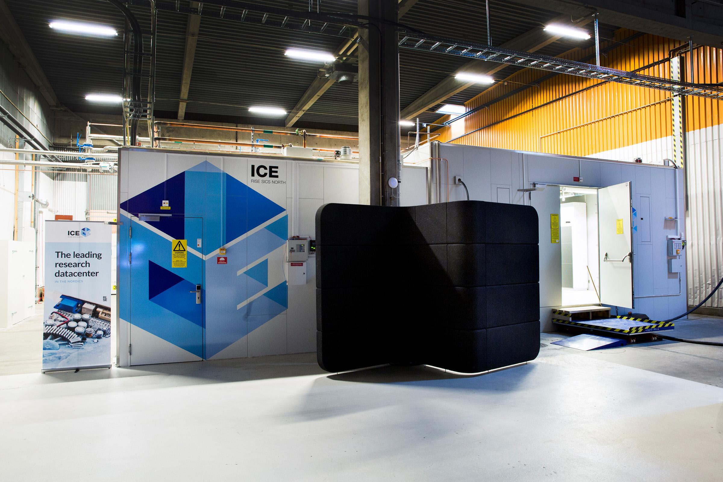 ICE datacenter research testbed innovation AI experiment cloud IT infrastructure autonomous