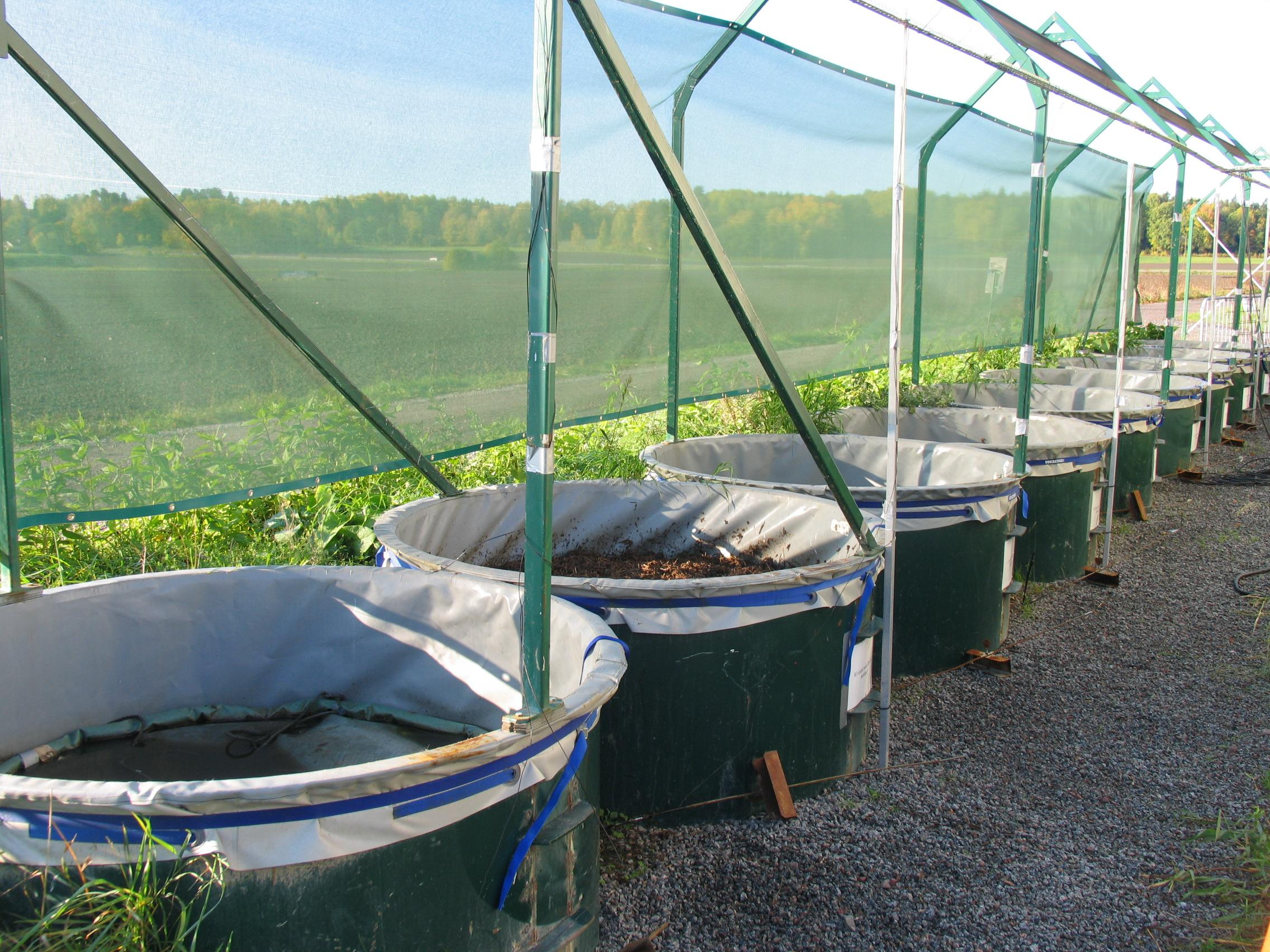 Measuring GHG emissions from animal manure
