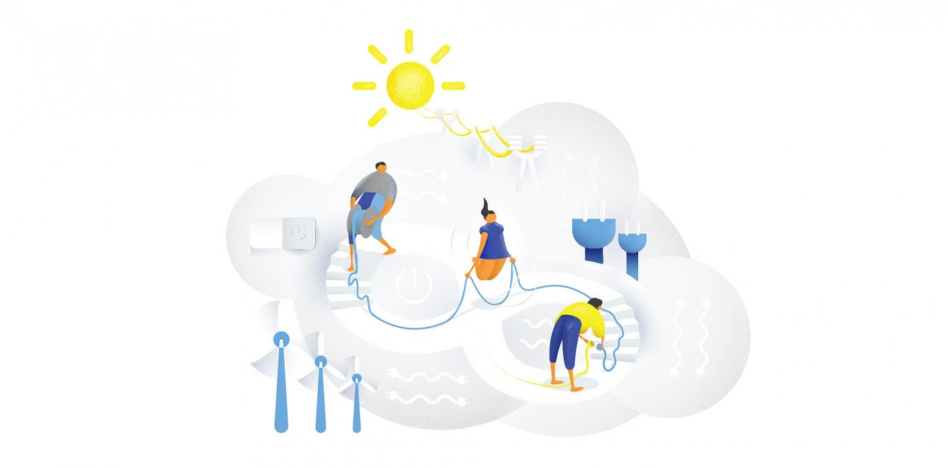What could everyday life look like in a future with less reliable energy supply?