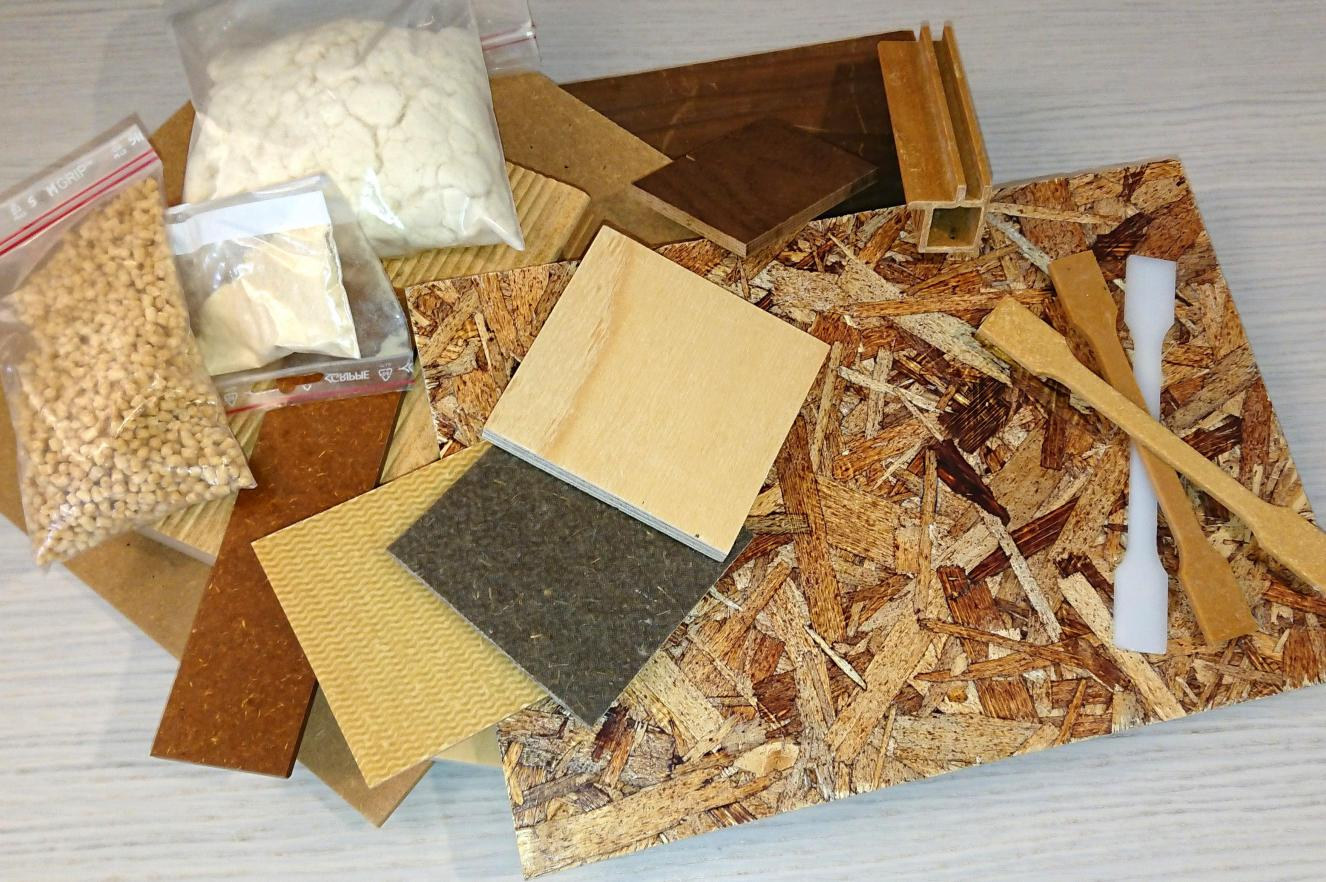 Testbed for development of wood based composites and board materials