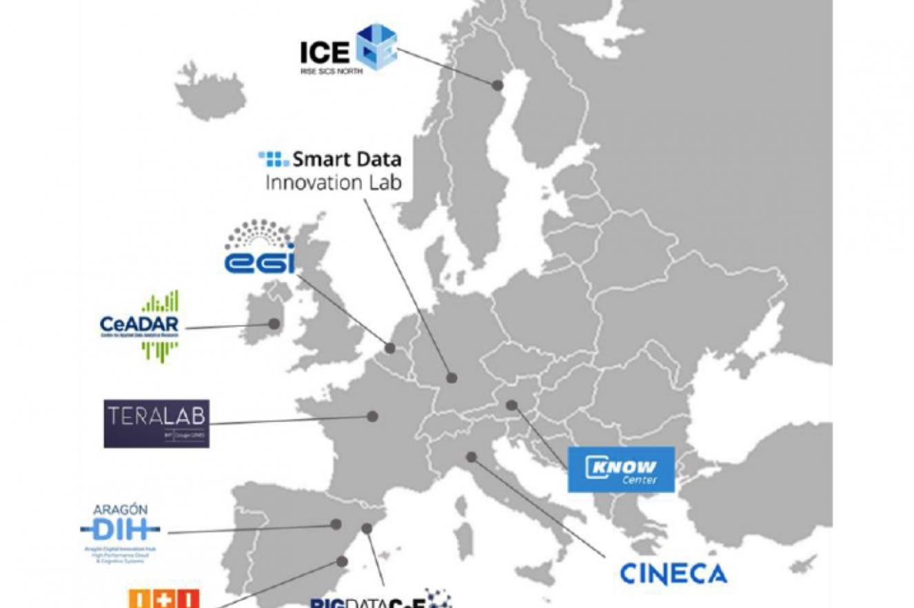 ICE datacenter research testbed innovation AI experiment cloud IT infrastructure DIH Hub
